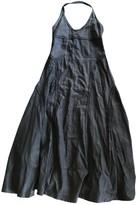 Calvin Klein Black Linen Dresses
