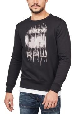 G Star Men's Paint Drip Sweatshirt, Created for Macy's