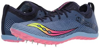 Saucony Havok XC2 (Blue/Citron/Vizi Pink) Women's Shoes