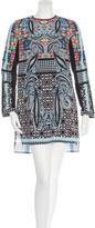 Clover Canyon Paisley Pattern Mini Dress