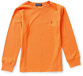 Ralph Lauren Big Boys 8-20 Long-Sleeve Jersey Tee