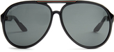 Gucci Aviator-frame acetate sunglasses