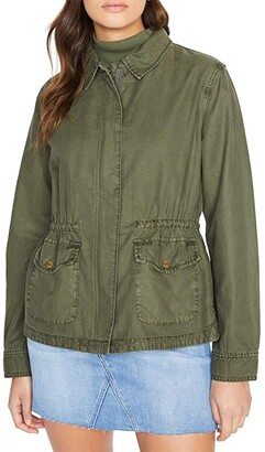 Sanctuary Liberty Military Jacket (Army Green) Women's Clothing