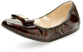 Cole Haan Tali Bow Patent Leather Ballet Flat