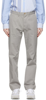 Polo Ralph Lauren Grey Basic Chino Trousers