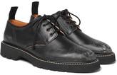 Maison Margiela Distressed Leather Derby Shoes