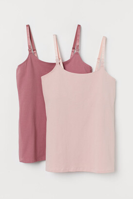 H&M MAMA 2-pack nursing tops