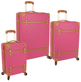 Diane von Furstenberg Saluti Hardside Spinner Luggage Set (Set of 3)
