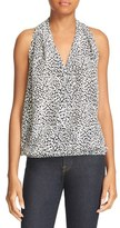Joie Women's Naya B Print Silk Top