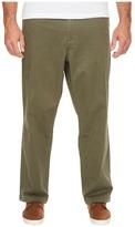 Dockers Big Tall Washed Khaki Flat Front Men's Casual Pants