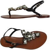 Dolce & Gabbana Toe strap sandals - Item 11196886
