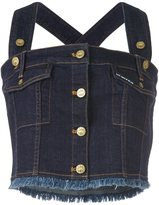 House of Holland 'HoH x Lee Collaboration' dungaree top - women - Cotton/Polyester/Spandex/Elastane - XL