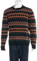 Valentino Striped Intarsia Knit Sweater w/ Tags