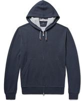 Brunello Cucinelli - Cotton-blend Jersey Zip-up Hoodie