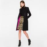 Paul Smith Women's Black Wool-Cashmere Epsom Coat