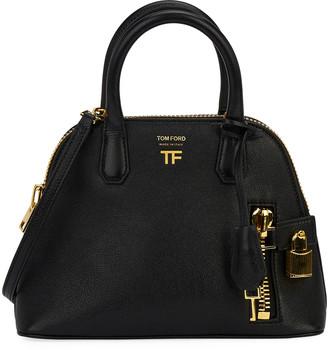 Tom Ford Buffalo Grain Small Top Handle Bag
