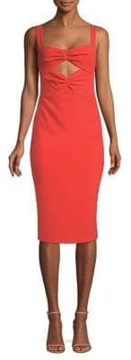 LIKELY Terry Cutout Bodycon Dress