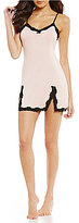 Betsey Johnson Lace-Trimmed Chemise