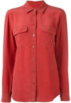 Equipment military blouse - women - Silk - M
