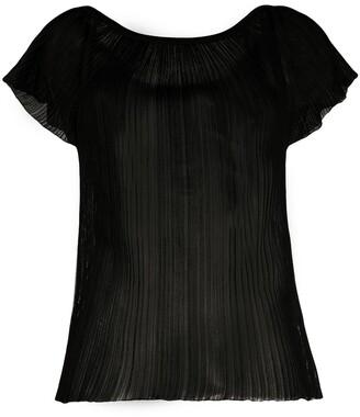 Missoni Short Sleeved Sheer Blouse