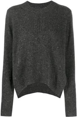 Isabel Marant speckled knit cashmere jumper