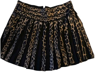 Roberto Cavalli Wool Skirt for Women