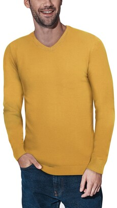 X-Ray V-Neck Ribbed Pullover Sweater