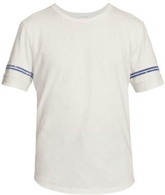 Saint Laurent Decoupe Logo Stripe T-Shirt