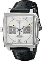 Tag Heuer Men's CAW211C.FC6241 Monaco Analog Display Swiss Automatic Black Watch