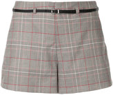 Loveless houndstooth shorts