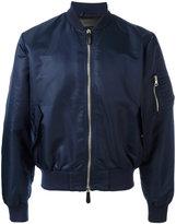 J.W.Anderson classic bomber jacket - men - Nylon/Cotton/Polyamide/Leather - 48