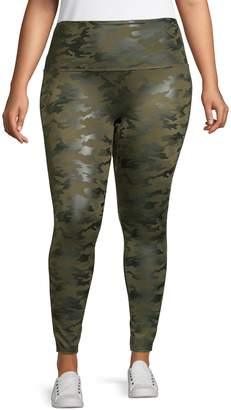 Spanx Plus Camo-Print Leggings
