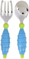 NUK Safety Fork & Spoon - Blue