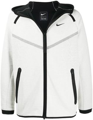Nike Waffle Texture Zip Hoodie