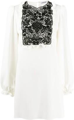 P.A.R.O.S.H. Lace-Panel Shift Dress