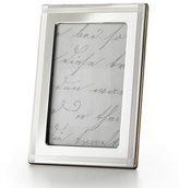 "Monica Rich Kosann Cross Hatch Stripe 8"" x 10"" Frame"