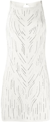 Ermanno Scervino Embellished Knitted Tunic