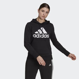 adidas Badge of Sport Pullover Fleece Hoodie