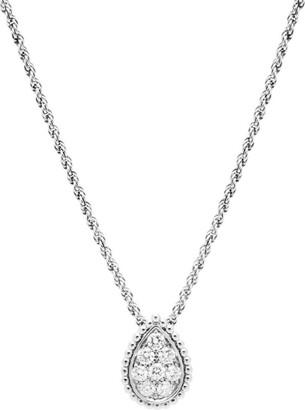 Boucheron White Gold and Diamond Serpent Boheme Necklace