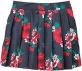 Joe Fresh Toddler Girls' Floral Skirt, JF Midnight Blue (Size 5)