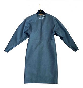 Celine Anthracite Wool Dresses