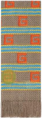 Gucci Forte Dei Marmi striped modal silk stole