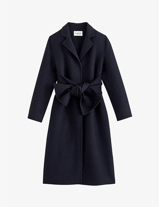 Claudie Pierlot Gabriela double-breasted wool-blend coat