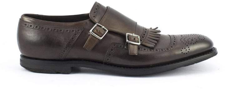 Church's Shanghai In Vintage Calf Brown Burnt