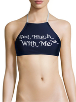 Wildfox Couture Get High with Me Bikini Top