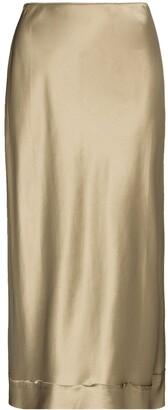 Lee Mathews High Waist Midi Skirt
