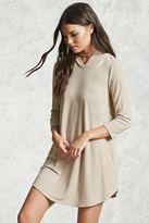 Forever 21 Hooded Mini Dress