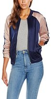 New Look Women's Colour Block Bomber Jacket