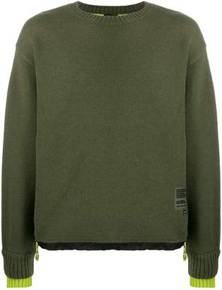 Diesel long-sleeve relaxed jumper