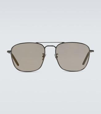 Saint Laurent Square-frame aviator sunglasses